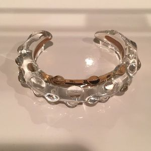 Knotty Glass Bracelet; Size Small
